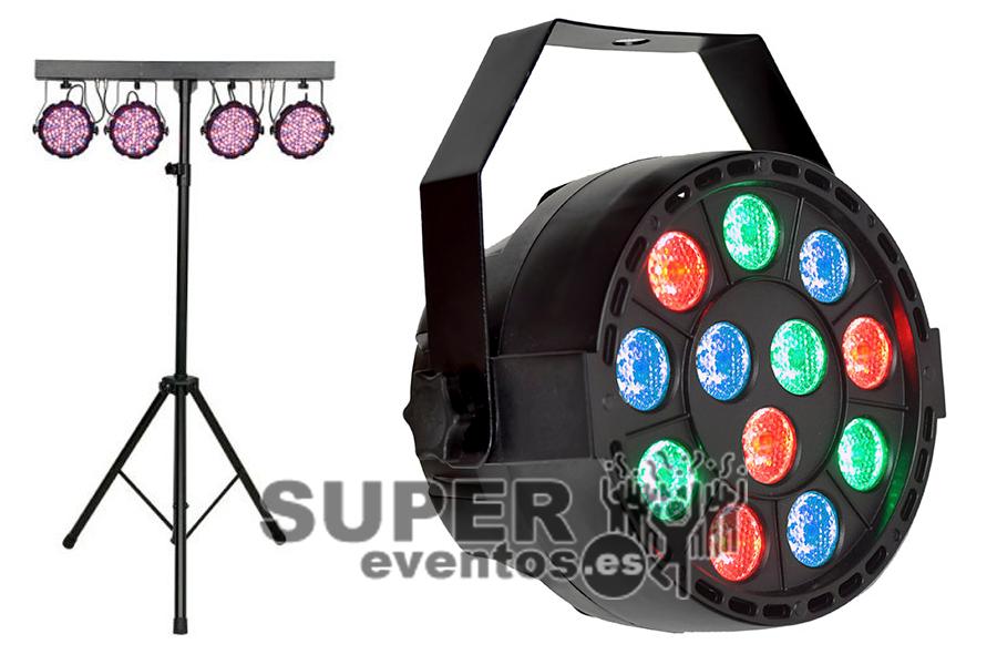 Alquilar Kit focos de iluminación básico